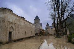 Haghartsin in Tavush Province of Armenia. Haghartsin is a 13th-century monastery located near the town of Dilijan in the Tavush Province of Armenia. It was Royalty Free Stock Photo
