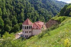 Haghartsinklooster in Armenië Stock Foto