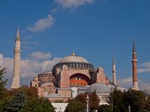 Haghia Aya Sophia Stock Photo