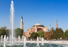 Haghia (Aya) Sophia Royalty Free Stock Photography
