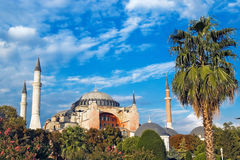 Haghia Sofia, Istanbul Royalty Free Stock Images
