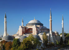Haghia sofia landmark mosque in istanbul turkey Royalty Free Stock Photo
