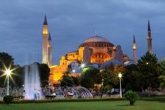 Haghia Sophia Costantinopoli Immagine Stock Libera da Diritti