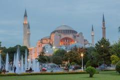 Haghia Sophia Costantinopoli Immagini Stock Libere da Diritti