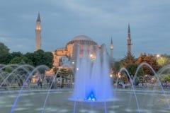 Haghia Sophia Costantinopoli Fotografie Stock Libere da Diritti