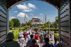 Haghia Sophia Istanbul Stock Photo