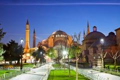 Haghia Sophia in Istanbul Stock Image