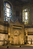 Haghia Sophia Mosque - Istanbul - Turkey Royalty Free Stock Images