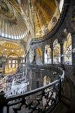 Haghia Sophia Museum en el distrito de Fatih de Estambul, Turquía Fotografía de archivo libre de regalías