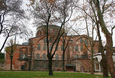 Hagia艾琳教会在伊斯坦布尔 库存图片