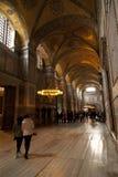 hagia εσωτερική Κωνσταντινούπολη που προσεύχεται το βαλεντίνο της Τουρκίας sophia του s Στοκ φωτογραφία με δικαίωμα ελεύθερης χρήσης