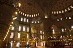 hagia εσωτερική Κωνσταντινούπολη που προσεύχεται το βαλεντίνο της Τουρκίας sophia του s Στοκ εικόνα με δικαίωμα ελεύθερης χρήσης