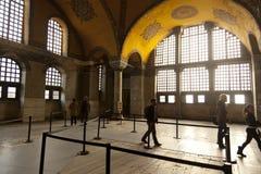 hagia εσωτερική Κωνσταντινούπολη που προσεύχεται το βαλεντίνο της Τουρκίας sophia του s Στοκ Εικόνες