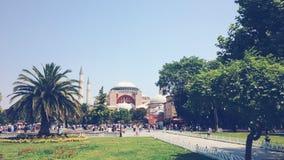 Hagia Σόφια στην Κωνσταντινούπολη, Τουρκία Στοκ Φωτογραφίες