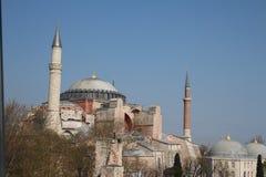 Hagia索非亚在伊斯坦布尔,土耳其 库存照片