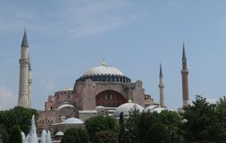 Hagia célèbre Sophia dans l'Oldtown d'Istanbul, Turquie Photo stock