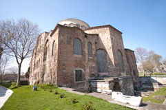 Hagia Eirene Church (Aya Irini) Royalty Free Stock Image