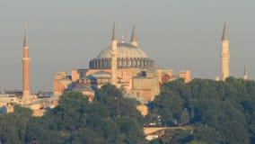 Hagia famoso Sophia a Costantinopoli stock footage