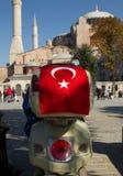 hagia infront Istanbul motocyklu sophia Obrazy Royalty Free