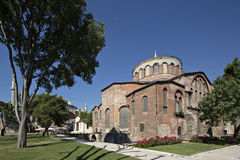 Hagia Irene Church, Istanbul, Turkey Royalty Free Stock Photography