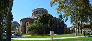 Hagia Irene i Hagia Sophia Fotografia Stock