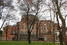 Hagia Irene kościół w Istanbuł Obraz Stock