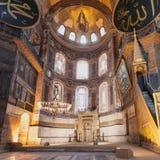 hagia Istanbul sophia Fotografia Stock