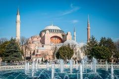 hagia Istanbul sophia indyk Zdjęcia Stock