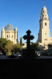 Hagia Maria Sion Abbey church in Mount Zion. Jerusalem, Israel. Stock Images