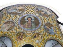 Hagia Maria Sion Abbey, iglesia de Dormition en el monte Sion, Jerus Fotografía de archivo libre de regalías