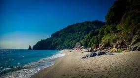 Hagia Saranta Beach, Pelion, Greece Royalty Free Stock Photos