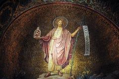 Церковь аббатства Hagia Марии Sion в Mount Zion Израиль Иерусалим Стоковые Фото