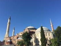 Hagia Sofía en Sultanahmet en Estambul, Turquía Imágenes de archivo libres de regalías