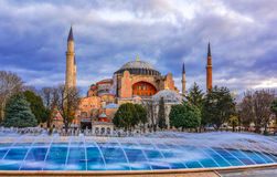 Hagia Sofia, Ιστανμπούλ, Κωνσταντινούπολη, Τουρκία Στοκ Εικόνα