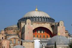 Hagia Sofia a Costantinopoli Fotografia Stock Libera da Diritti