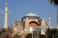 Hagia Sofia a Costantinopoli Fotografie Stock