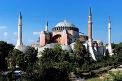 Hagia Sofia a Costantinopoli Fotografie Stock Libere da Diritti