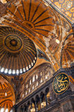Hagia Sofia Interior 01 Royalty Free Stock Photography