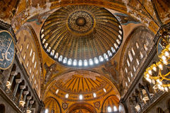 Hagia Sofia Interior 02 Stock Images