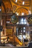 Hagia Sofia Interior 33 Stock Afbeelding