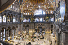 Hagia Sofia Interior 42 Royalty Free Stock Photography