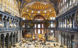 Hagia Sofia Interior 35 Royalty Free Stock Image