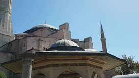 Hagia Sofia in Istanboel stock footage