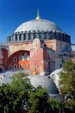 Hagia Sofia in Istanbul. Closeup image of Hagia Sofia church in Istanbul, Turkey Stock Image