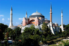 Hagia Sofia in Istanbul royalty free stock photography