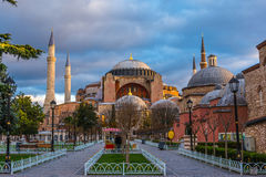 Hagia Sofia in Istanbul Stock Photos