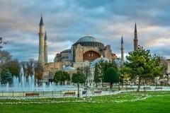 Hagia Sofia in Istanbul Stockfotos