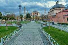 Hagia Sofia in Istanbul Stockbild