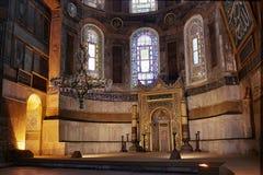 Hagia Sofia, Istanbul stockbild