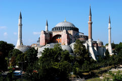 Hagia Sofia in Istanbul Royalty Free Stock Images